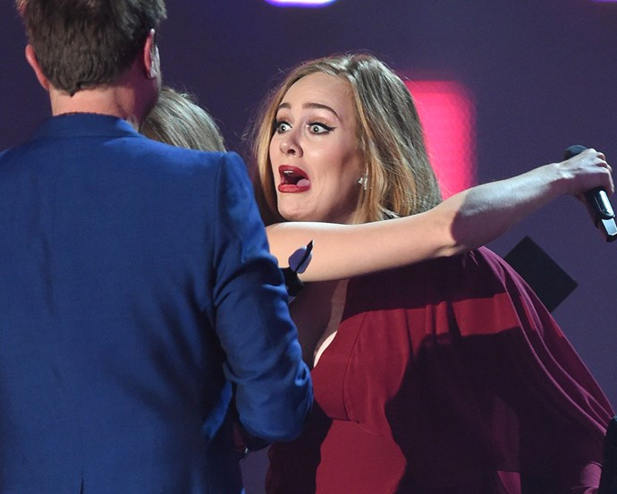 Adele breaks down as she wins big at Brit Awards