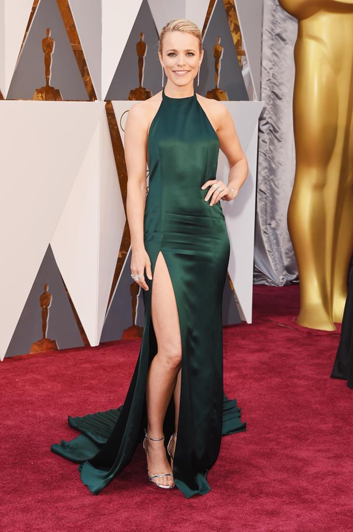 Rachel McAdams arrives at the 88th annual Academy Awards.