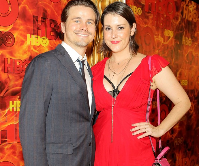 Boyfriend Jason and Melanie at an Emmy Awards after-party in Los Angeles, 2015.