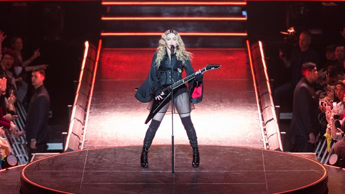 Madonna's tears for 'lost' son