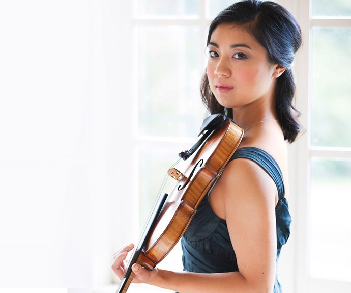 The talented performer won her first violin contest when she was six, competing in an under-18 recital division category.