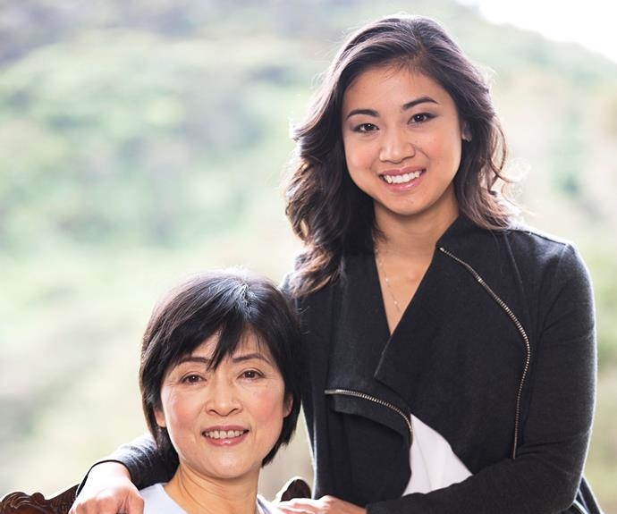 Natalie, pictured with her mother Wanju, is currently in the States completing her musical arts doctorate degree.