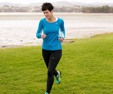 Kiwi mum with chronic arthritis completes 'world's coolest marathon'