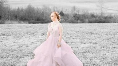 Model with Down Syndrome stars in fairytale shoot