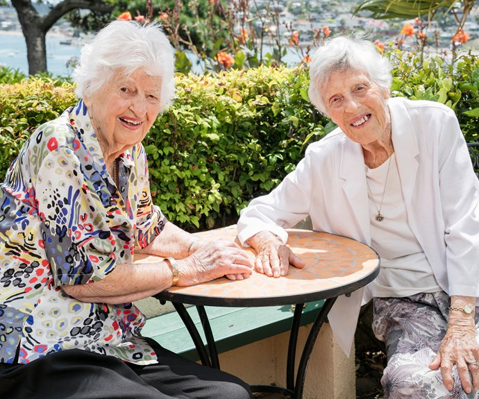 Best friends forever: Our 95-year bond
