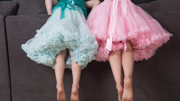 children in tutus