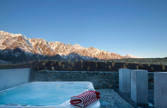"**Jack's Point Lake House, Kawarau Falls** ""Jack's Point Lake House offers the ultimate rural lifestyle, balancing privacy and tranquillity with access to the world renowned golf course and clubhouse facilities, as well as being in close proximity to the Remarkables ski field."" [See the full ad here](https://www.airbnb.co.nz/rooms/7229363?guests=5&s=qE3ESzqn)"