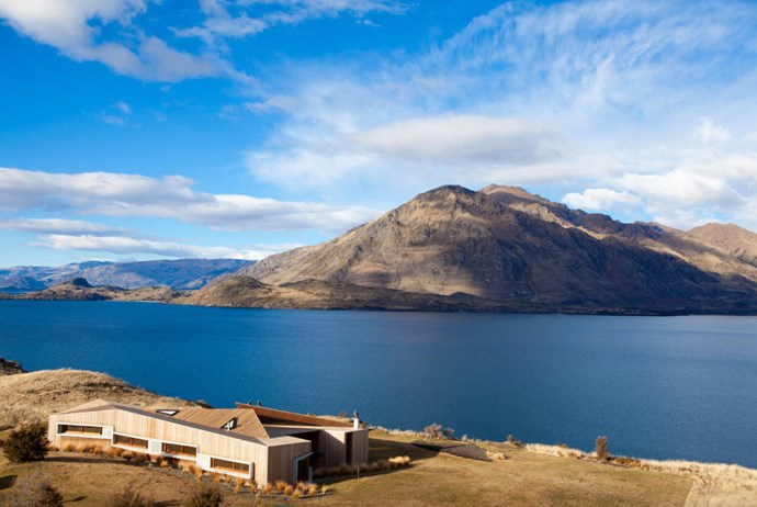 "**Release Wanaka, Glendhu Bay** ""Te Kahu Luxury Villa is nestled into its environment at perfect peace with its 50-acre surroundings of tussock and natural bush. The architecturally designed luxury villa has timber cedar cladding inside out."" [See the full ad here](https://www.airbnb.co.nz/rooms/9614299?s=99m2yxyt)"