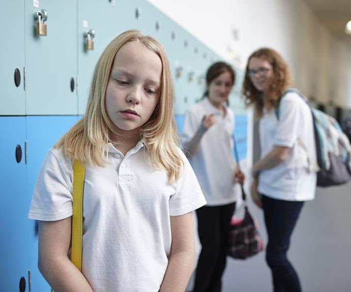 Young girl being bullied