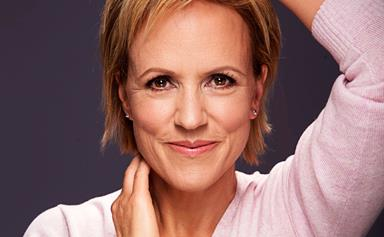 Hilary Barry accepts no makeup challenge