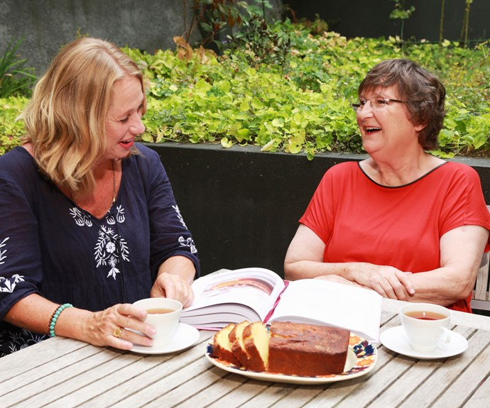Nici and Lois' recipes both appear in a new NZ-made baking cookbook.