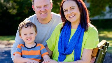 Young mum's breast cancer plea
