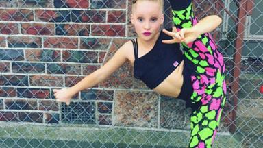 Little girl dances beautifully through ruins of Christchurch