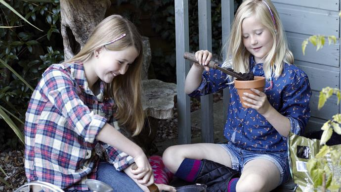 School holiday project: How to get kids in the garden