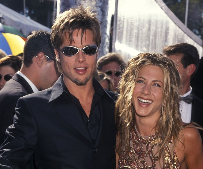 Brad Pitt and Jennifer Aniston before they ended their marriage of five years.