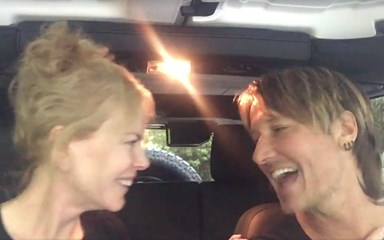 Watch Nicole Kidman and Keith Urban's sweet sing-a-long