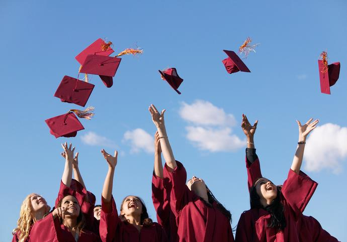 Woman graduates from university she was dumped at