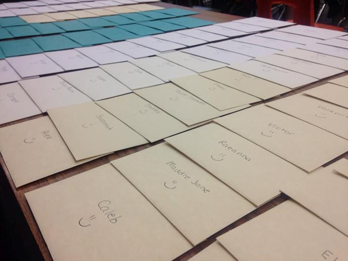 Brittni wrote over 100 notes