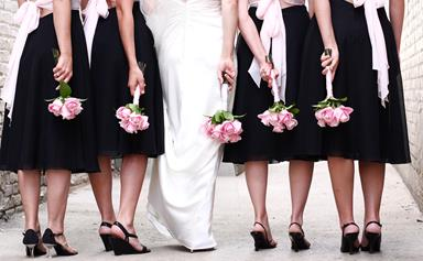 This bride had a strange request for her bridesmaid