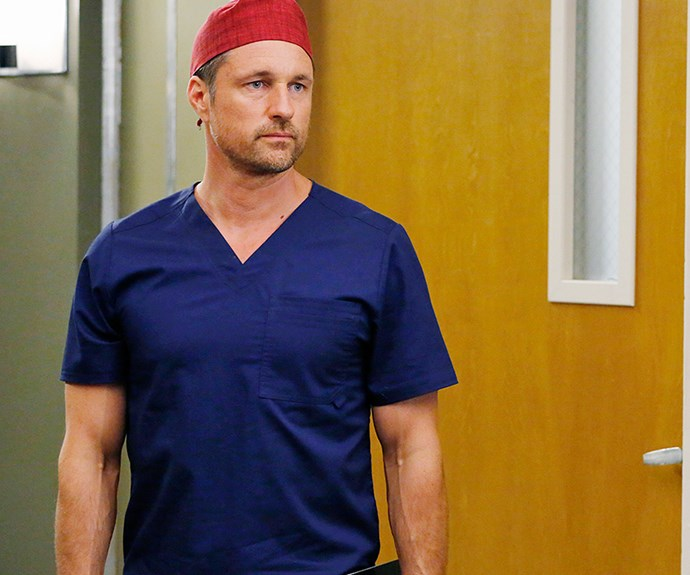 Our very own star as Dr Nathan Riggs.