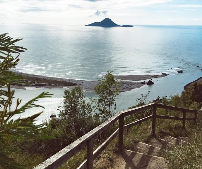 The Nga Tapuwae o Toi coastal route goes from Whakatane to Ohope.