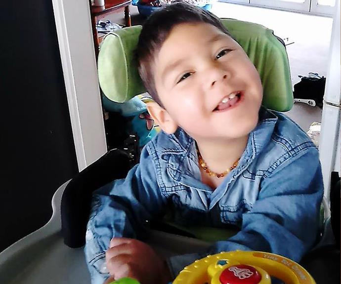 Rose loves spending time with her grandchildren, including grandson Korbyn, who has cerebral palsy.