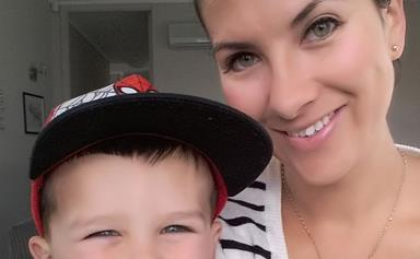 Woman thanks blood donors who saved her after traumatic childbirth