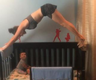 Baby yoga dangerous workout