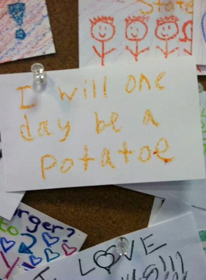 Kids reveal their life ambitions