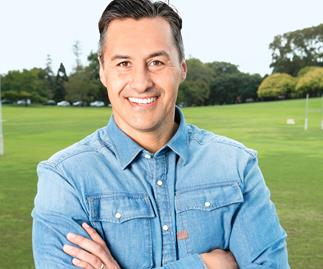 TV star Brendon Pongia: 'Fatherhood has changed me'