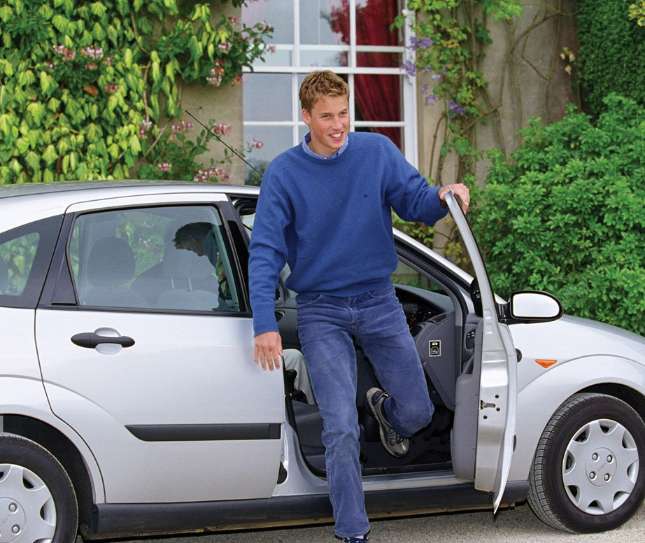 "*At 17, Prince William pulls up to Highgrove in a Ford Focus with L plates in 1999.* <br><br> **When he proved he's going to be an incredibly humble King one day:** <br><br> Seemingly alluding to the fact he may be a know-it-all at times in 2004 Prince William said: ""I'm always open for people saying I'm wrong because most of the time I am.""  <br><br> *(Image: Getty)*"