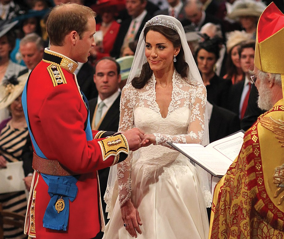 "Prince William and Duchess Catherine on their wedding day at Westminster Abbey in 2011. <br><br> **The time William revealed him and Kate are like any other normal couple:** <br><br> During an interview William sharing he and Kate love binge-watching box sets of series like Game of Thrones and Homeland ""once the kiddies are in bed.""  <br><br> They are also not opposed to a cheeky takeout - ""It's a real conundrum when it comes to it - pizza, curry or Chinese,"" William joked to Kate during a chat with *BBC's Radio 1*.  <br><br> ""You do struggle for choice,"" Kate teased back. ""I'm not so good with the spicy food,"" William explained.  <br><br> *(Image: Getty)*"