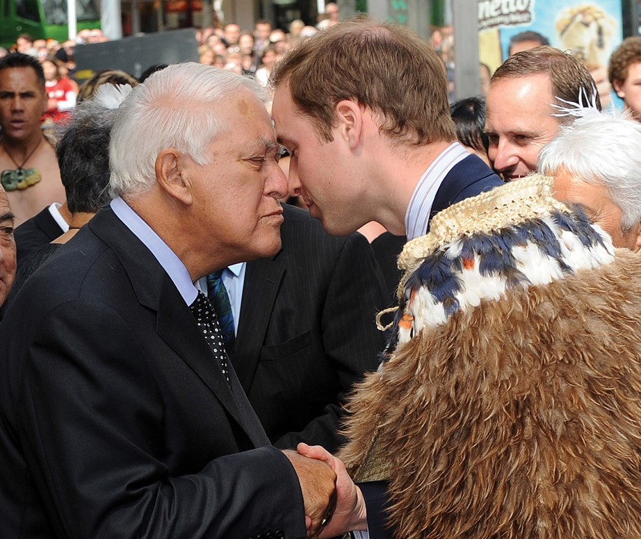 "*Prince William visits New Zealand in 2010.* <br><br> **When Prince William showed us the kind of King he hopes to be in the future:** <br><br> ""People say it's not ambitious, but it is actually quite ambitious wanting to help people,"" the Duke has said.   <br><br> *(Image: Getty)*"