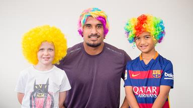 All Black wigs out for child cancer