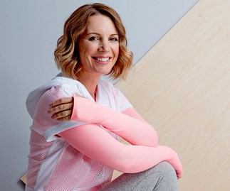 Carly Flynn shares her easy morning yoga routine