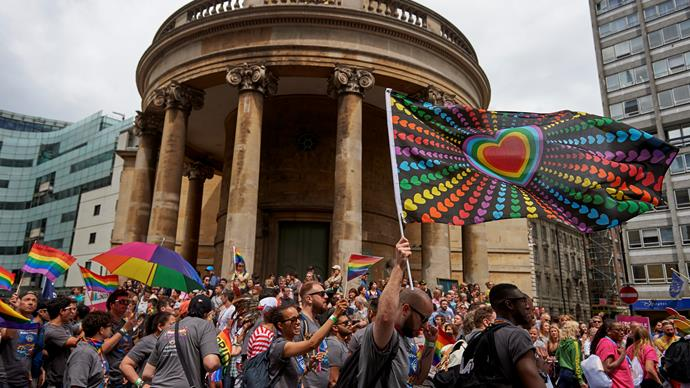 Kiwi fiancé of London Pride proposal says publicity is a way to help others