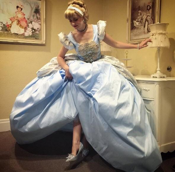 Adult Cinderella. Via [Instagram](https://www.instagram.com/designerdaddy_/)