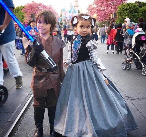 Luke Skywalker & Princess Leia from Star Wars. Via [Instagram](https://www.instagram.com/designerdaddy_/)