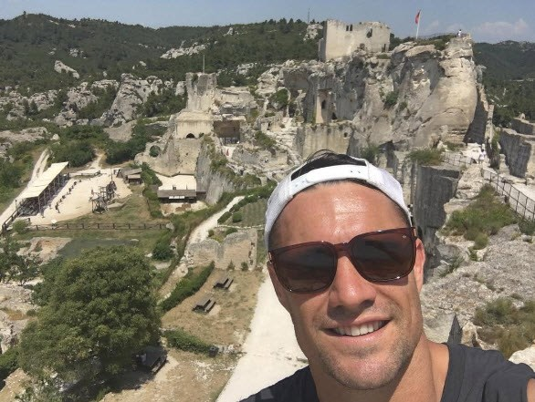 Dan Carter in Provence