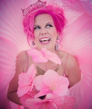 world's pinkest person