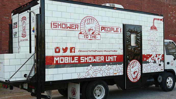 Shower to the People