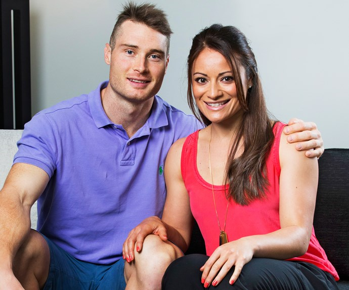 Assisting Natasha in her Olympic bid is her partner Ben, who is also a sprint cyclist.