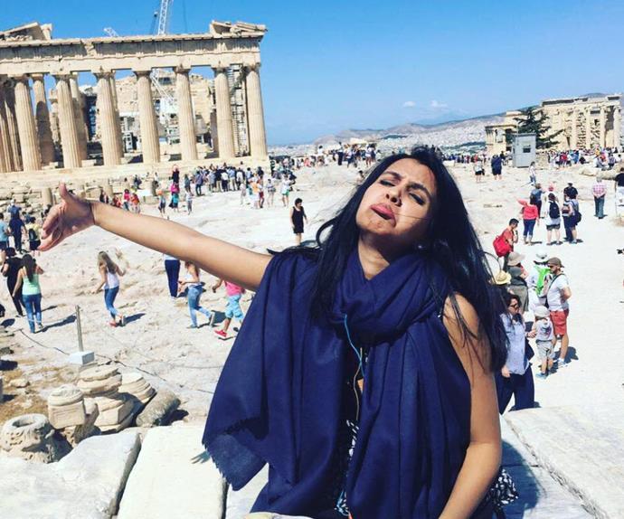 Huma Mobin Honeymoons Alone