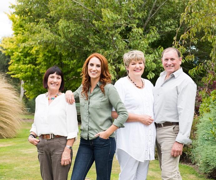 Sonia, Sam, Sheena and Paul.