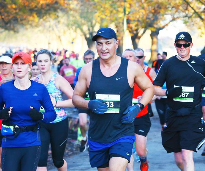 The Newshub presenter has taken to marathon running.