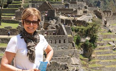 Weekly travel: Judy Bailey visits Machu Picchu