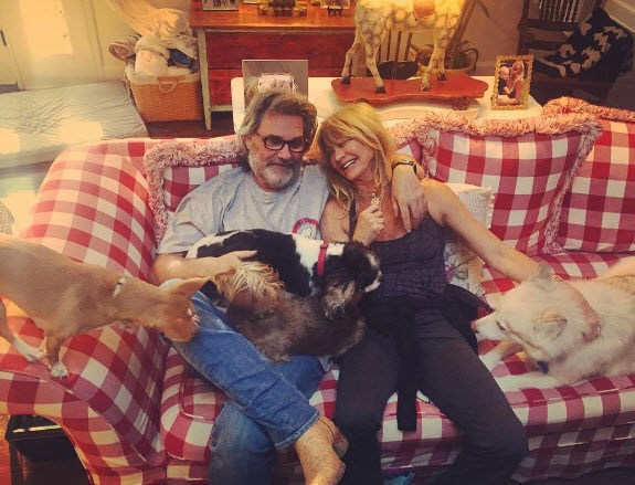 **Goldie Hawn & Kurt Russell (33 years)** Kurt and Goldie tied the knot a whopping 33 years ago, after meeting in the late 60s on a movie set. They only became romantically involved much later. Their union lasted and the couple have one son together, plus children from previous marriages.