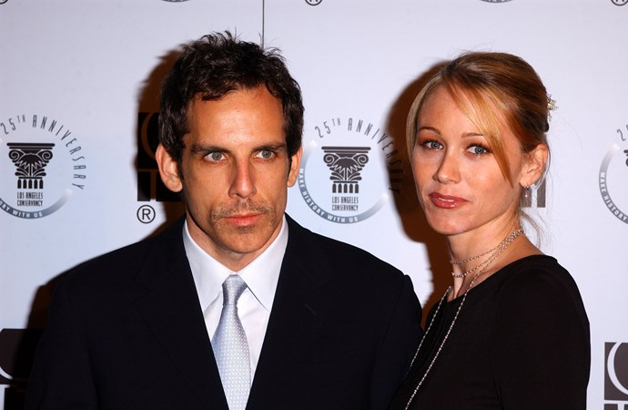 **Ben Stiller & Christine Taylor (16 years)** Ben and Christine met on set in the 90s, and were married by the new millennium. They make a great pair off screen too, starring in Zoolander 1 & 2, Dodgeball and Arrested Development together.