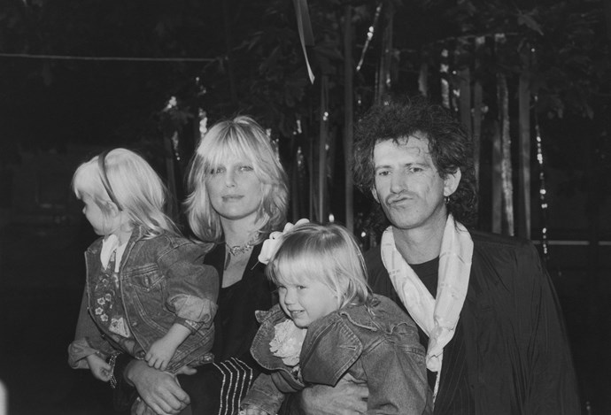 **Keith Richards & Patti Hansen (37 years)** Unlike some other members of *The Rolling Stones,* Keith Richards has been a one woman man for almost four decades. He met New York model Patti Hansen in 1979 and married her just four years later. The couple have two children and are primarily based in Connecticut.