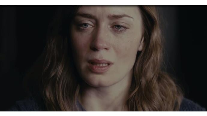 Emily Blunt breaks down in new The Girl on the Train trailer